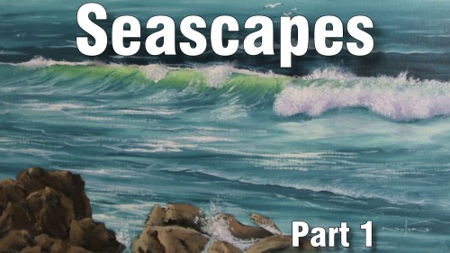 how to paint seascape oil