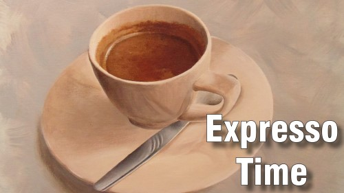 how to paint espresso acrylic