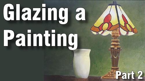 how to glaze acrylic