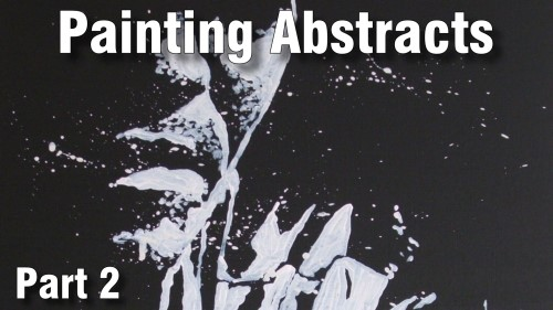 how to paint abstract visualizing acrylic
