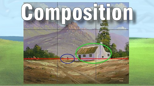 rules of composition in painting