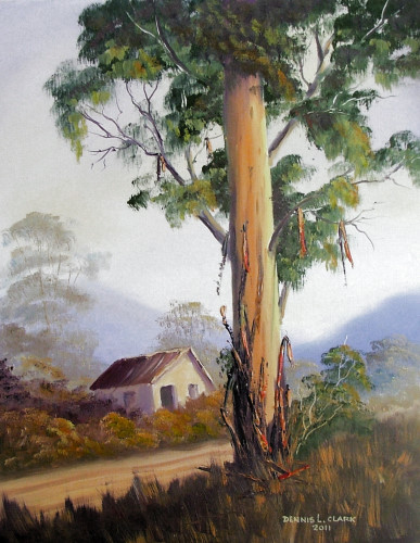 How to paint bluegum trees in oil online art lessons for How to paint a tree