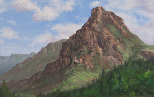 Introduction To Landscapes Mountains In Oil Online Art