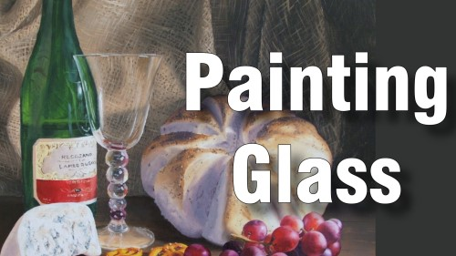 how to paint glass oil