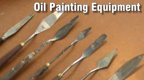 oil paint equipment