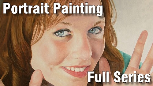 how to paint portraits course oil