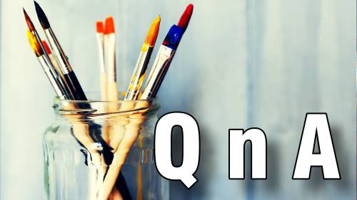 oil acrylic painting questions and answers