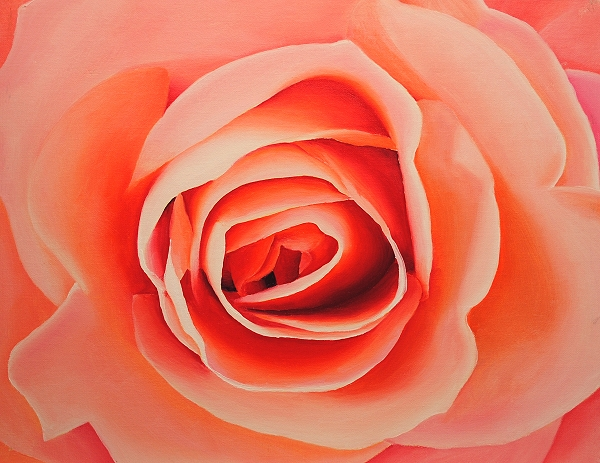 realistic rose painting tutorial flowers