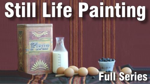still life painting course in oil