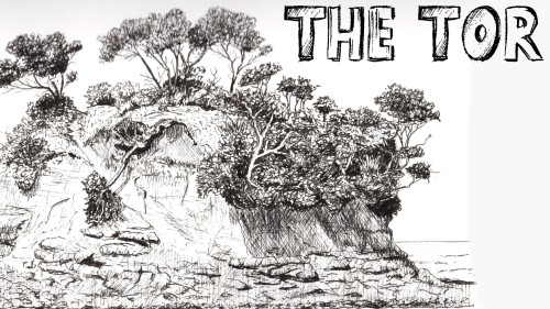 how to draw the tor pen and ink