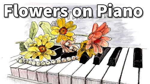 piano banner