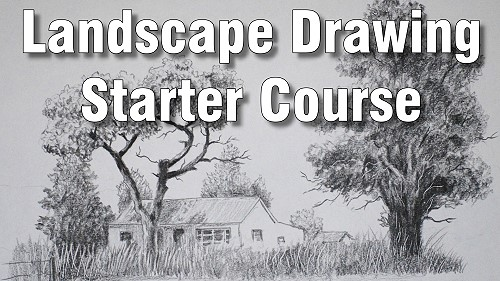 How to draw landscapes starter course