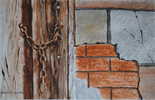 Wood,Rust and Plaster