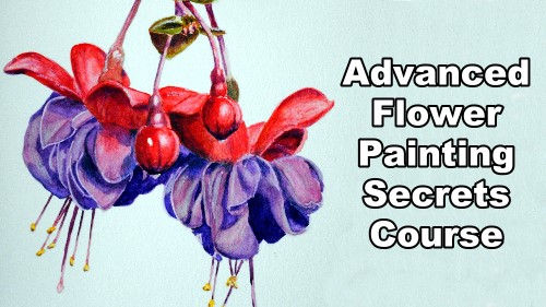 advanced flower painting secrets course