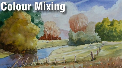 colour mixing in watercolour