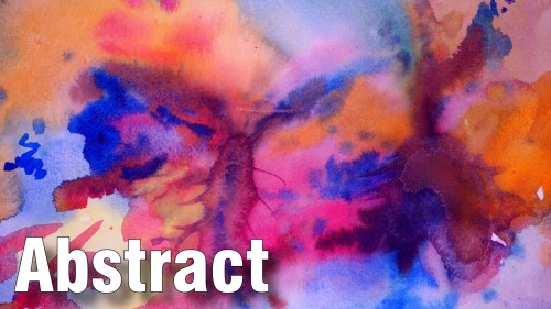 how to paint abstract watercolour