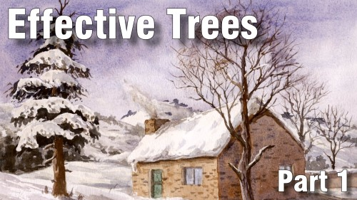 how to paint effective trees part one watercolour