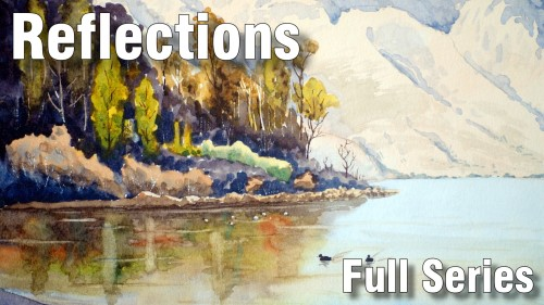 how to paint reflections full series watercolour