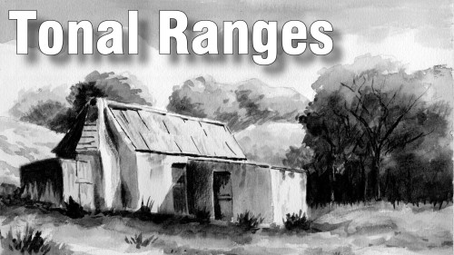 how to paint tonal ranges in watercolour
