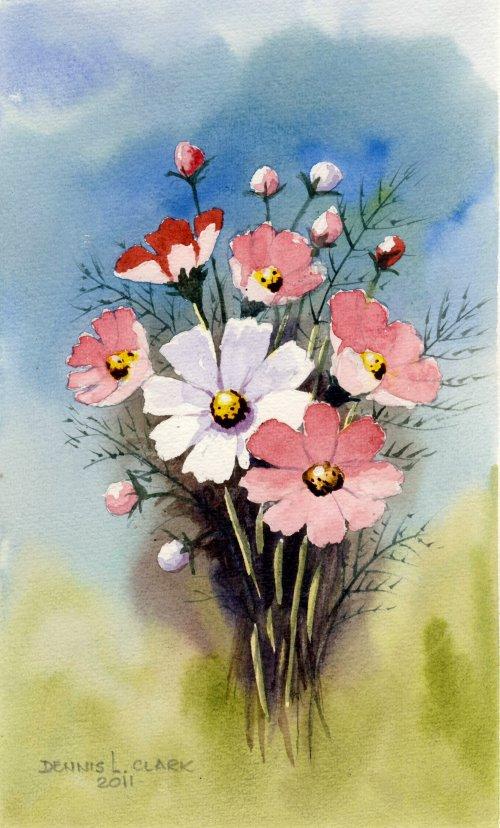 Paint Basket Art Lessons : Art class intro to watercolour painting paint