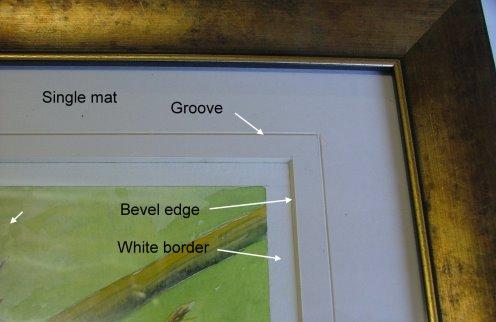 mat in frame