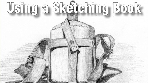 using a sketching Book